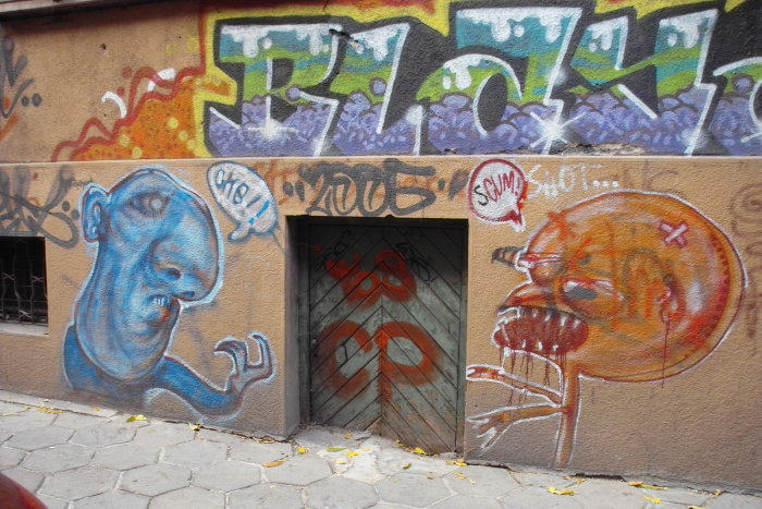 Graffiti in Sofia